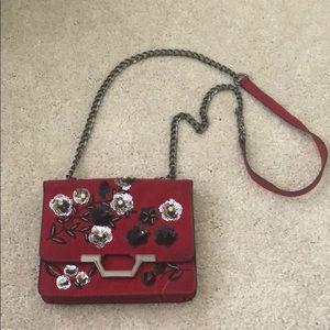 Topshop stitched crossbody purse
